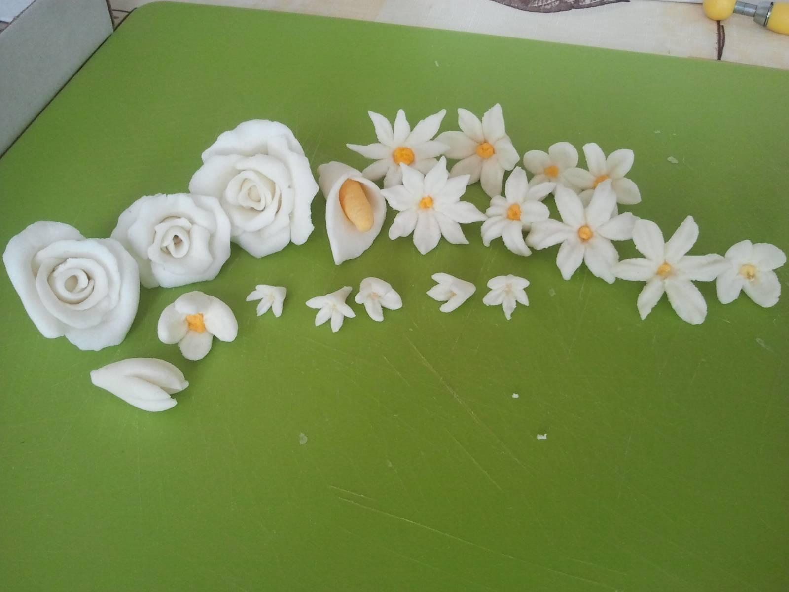 Мастика цветочная в домашних условиях - Простые рецепты вкусных десертов 17